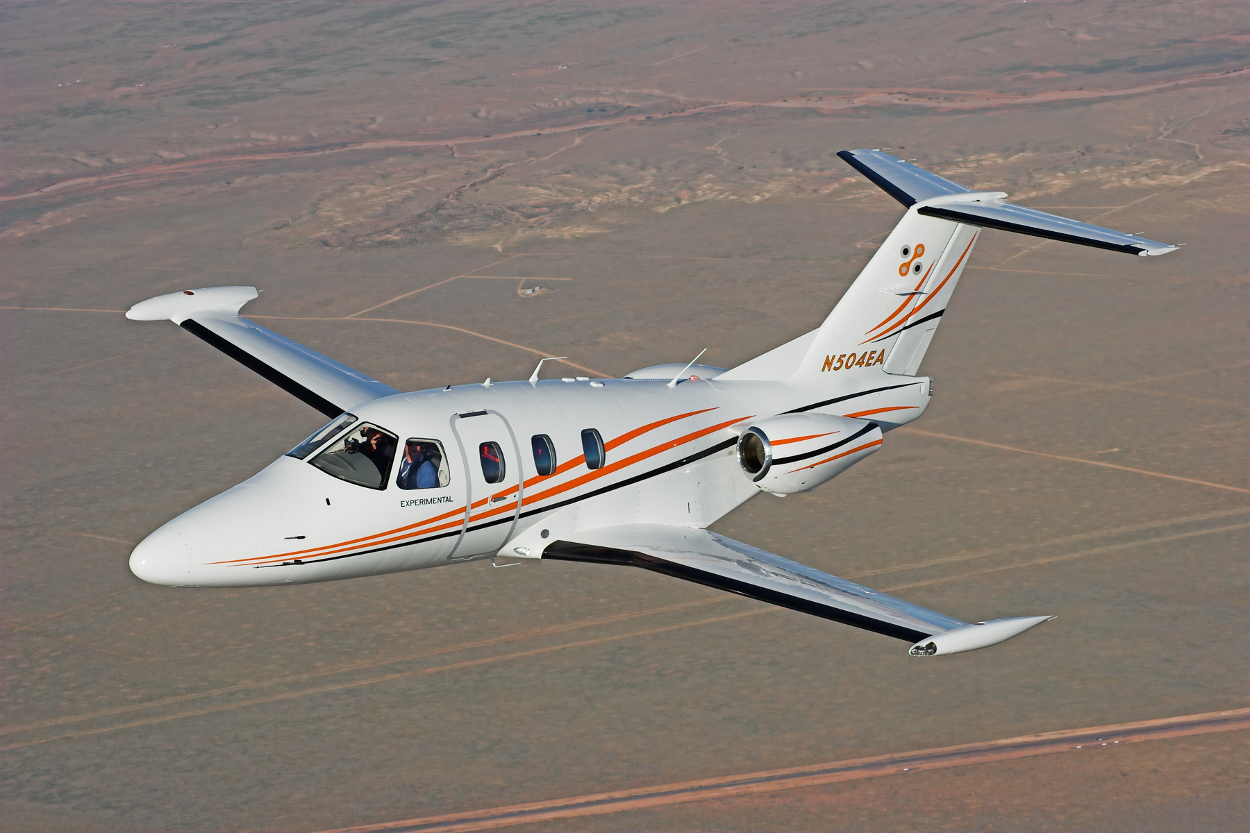 Private Jet of the Day: Eclipse 500 Eclipse Jet