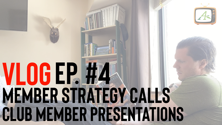 Sean's Blog: May 18, 2020: Club Member Strategy Calls & Presentations