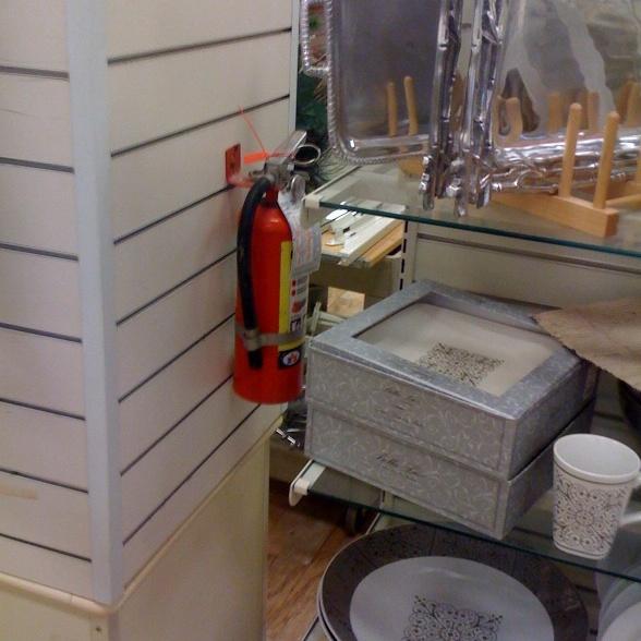 Fire Extinguisher Code Violations
