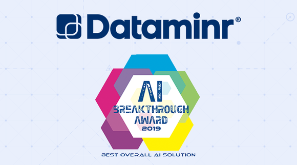 Dataminr Wins 2019 AI Breakthrough Award for Best Overall AI Solution