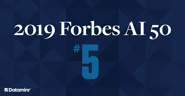 Dataminr Ranked Number 5 on the Forbes AI 50 List