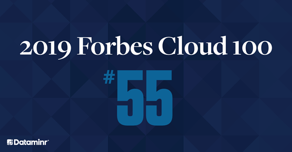 Dataminr Named to the 2019 Forbes Cloud 100 Ranking