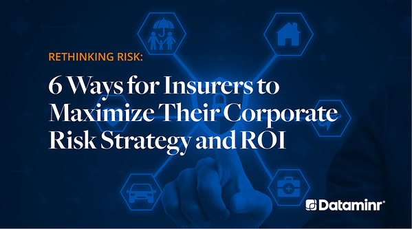 Rethinking Risk: 6 Ways for Insurers to Maximize Their Corporate Risk Strategy and ROI