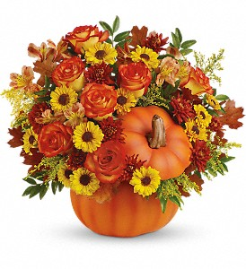 Decorating With Fall Flowers In New England