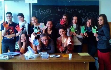 Jenny Bardozci Teaching English in Hungary