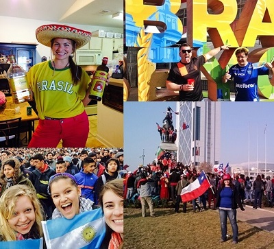 Experience the World Cup while Teaching English abroad