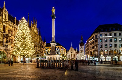 Munich is one of the top cities for teaching English in Europe