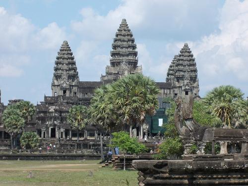 ITA Alumni Collen Kriel  Cambodia Angkor Wat