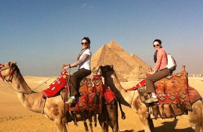 friends teaching abroad egypt