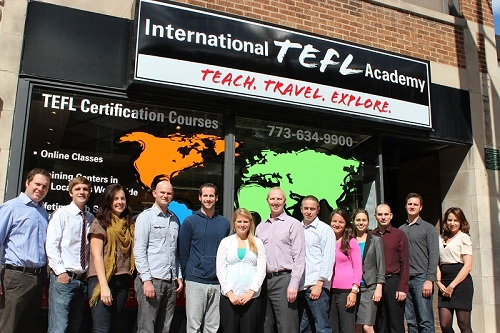 International TEFL Academy Staff
