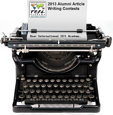 2013 Alumni Article Contest