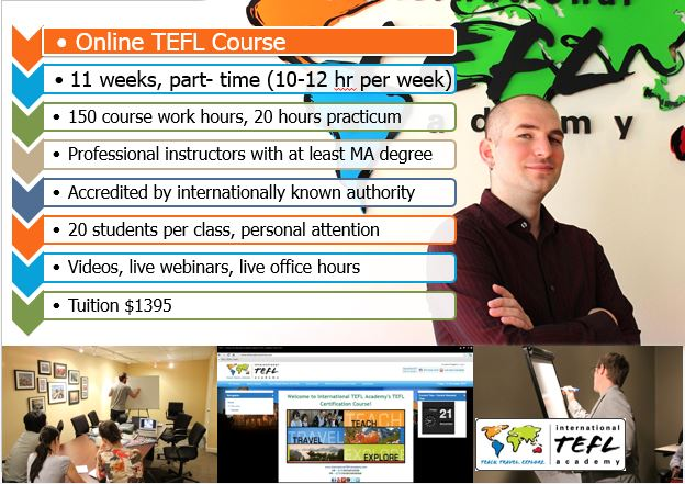 Accredited Online TEFL Certification Courses