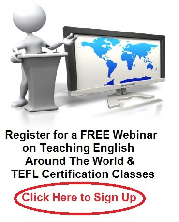 Register for a Free Webinar About Teaching English Abroad