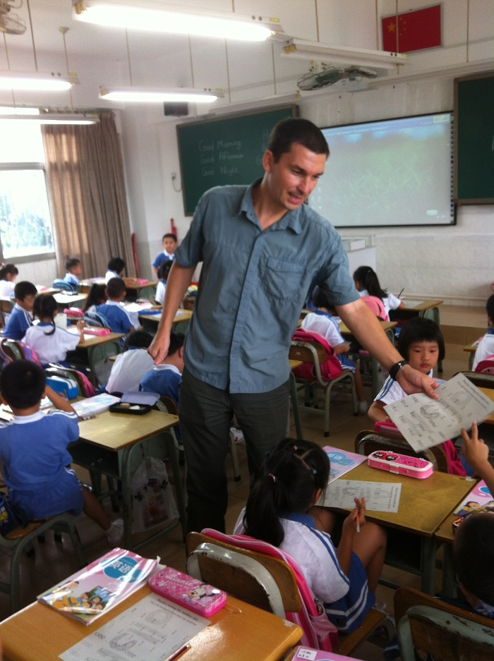 Teaching English in Shanghai, China