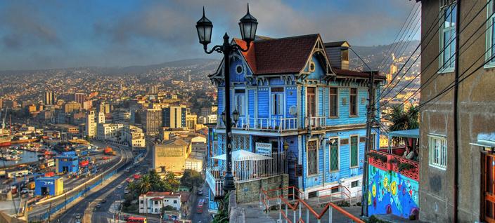 Chile Valparaiso teaching English 2