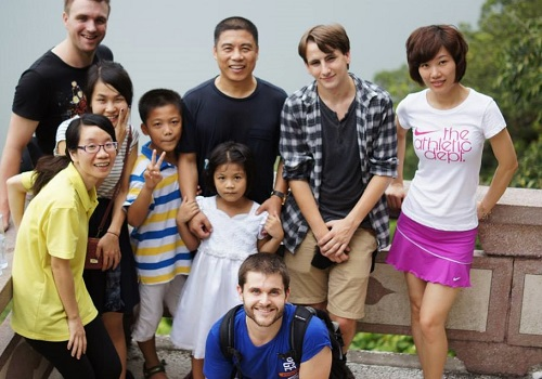 Jonathan Ogden ITA Alumni teaching english in Fuzhou China