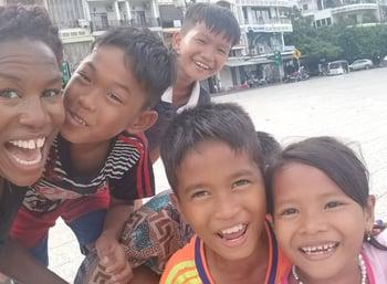 Phnom Penh TEFL Course ESL students