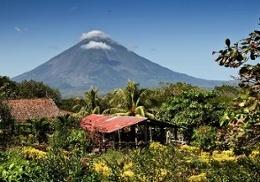 Volcano outside of Leon, Nicaragua