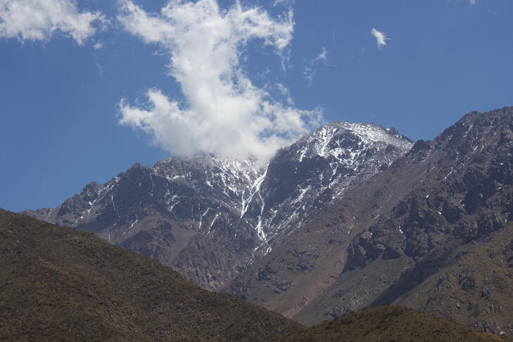 Border Hopping from Chile to Mendoza, Argentina