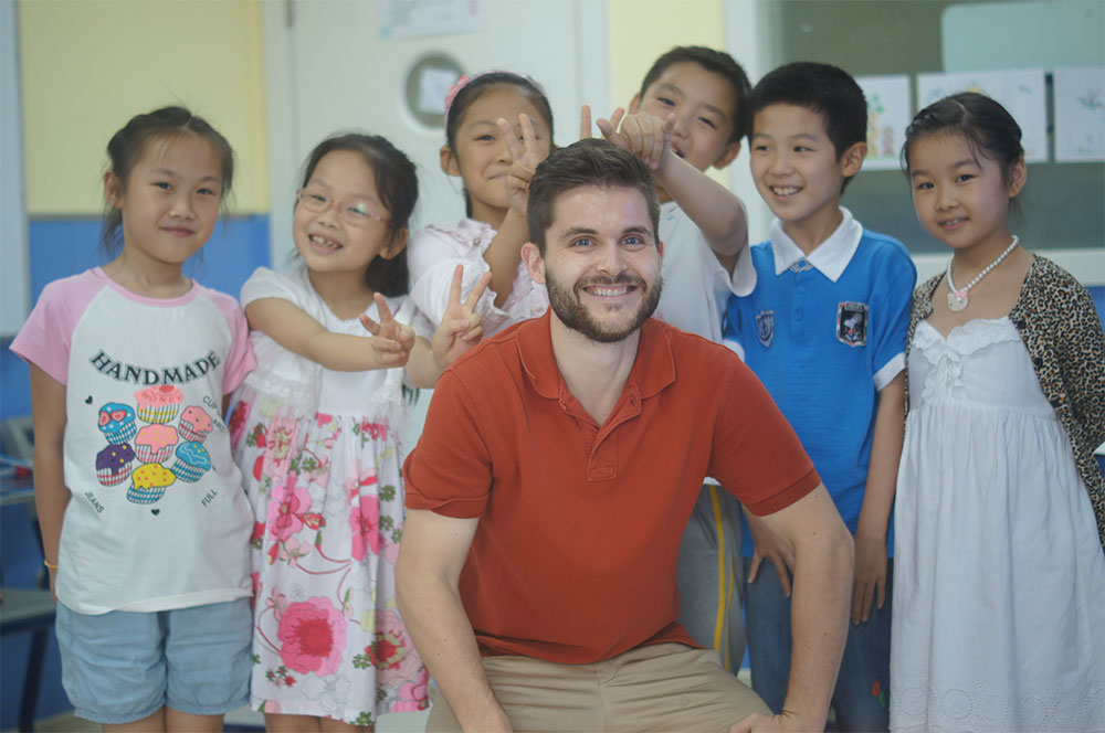 High Salaries for Teaching English in China