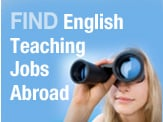 Find English teaching jobs abroad