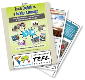 tefl class brochure international tefl academy