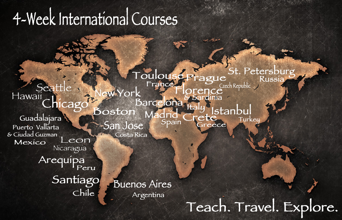 TEFL Certification Classes Around the World