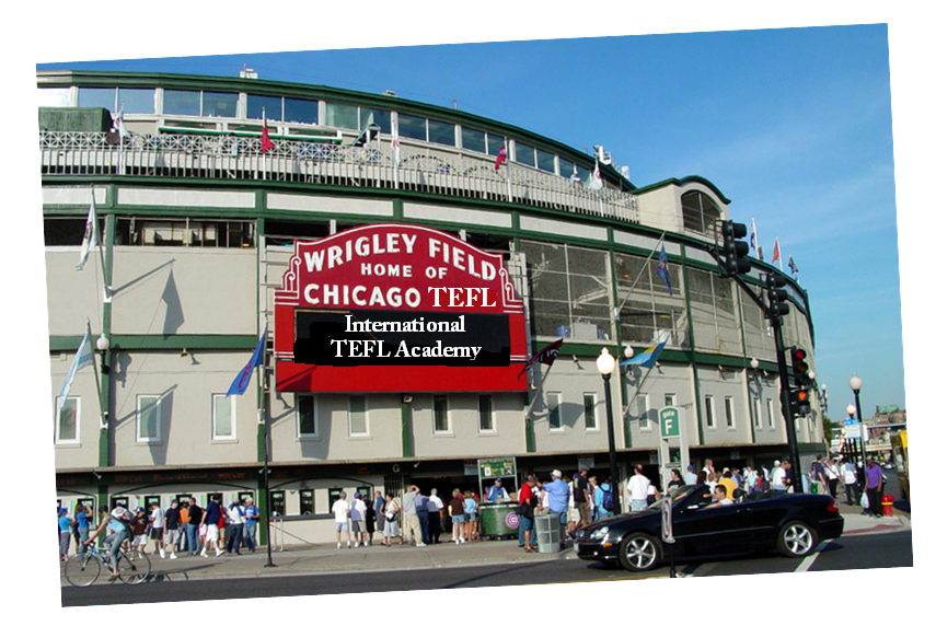 Wrigley Field and International TEFL Academy