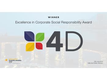 4D wins best CSR at Datacloud Awards