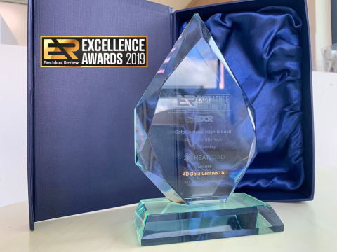 4D wins again for 'Project of the Year' at the Electrical Review Awards