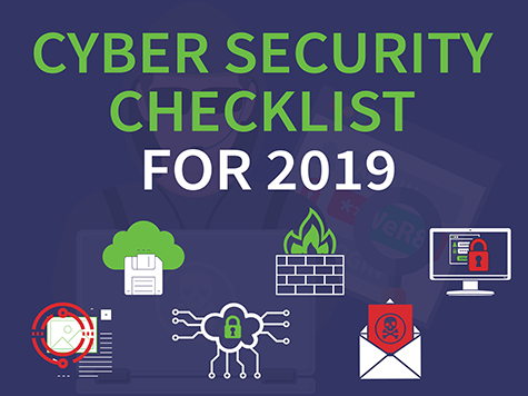 INFOGRAPHIC: Cyber Security Checklist for 2019