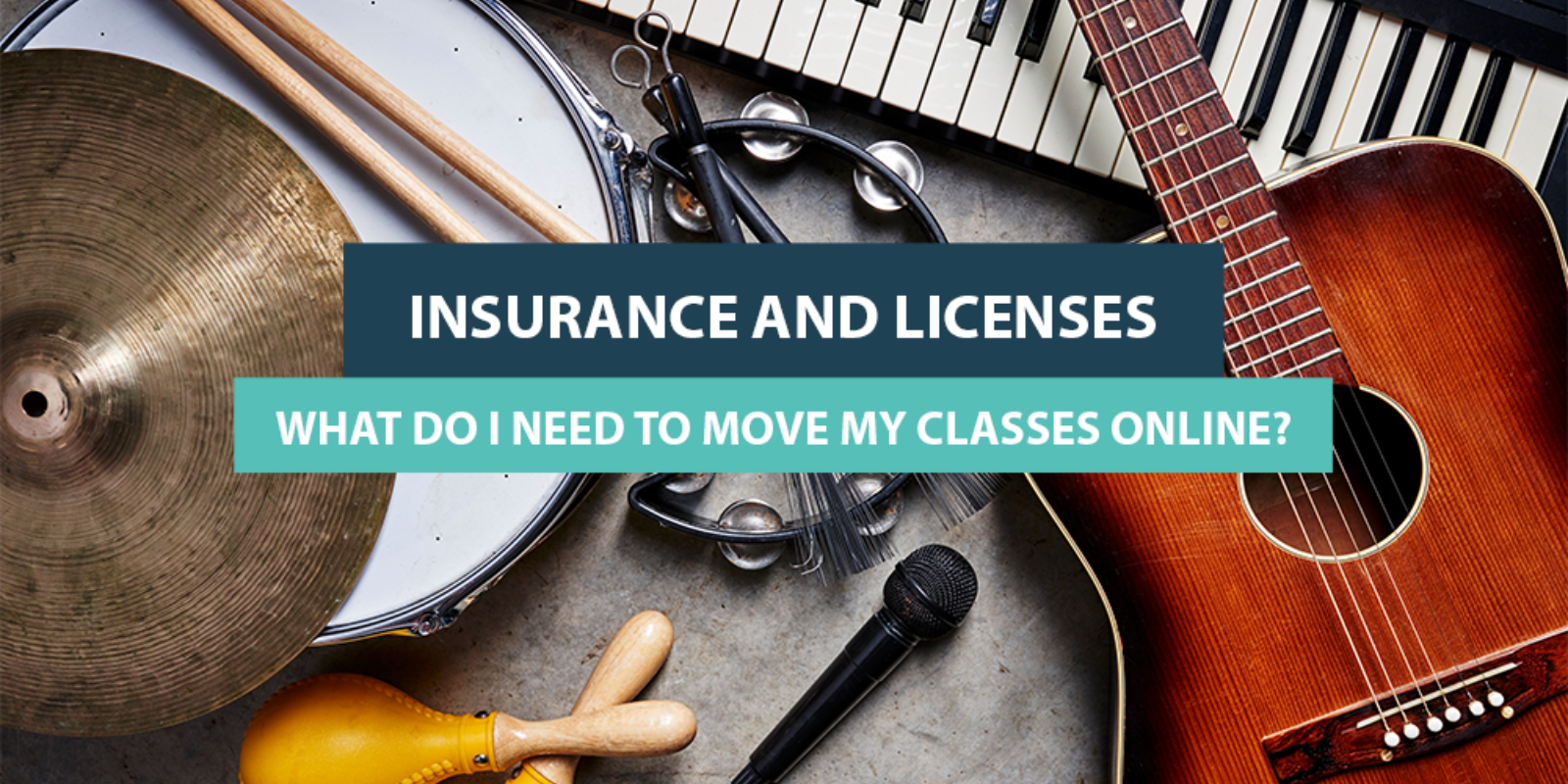 Insurance and Licenses: What Do I Need to Move My Classes Online?