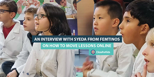 An Interview with Syd from Femtinos on How to Move Lessons Online