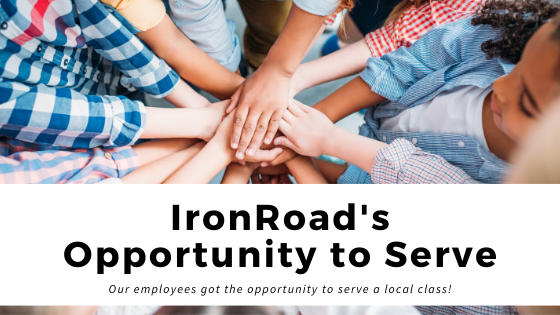 IronRoad's Opportunity to Serve