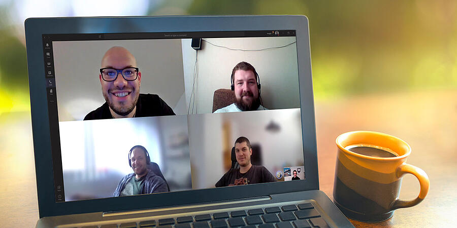 Work from Home, The Daily Meeting