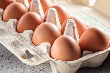 afvallen met eieren