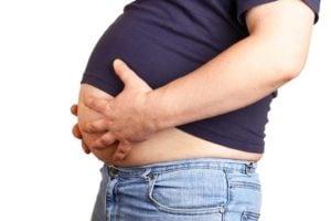 De BMI houdt geen rekening met het buikvet.