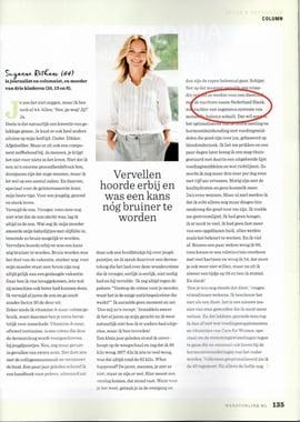 Nederland Slank in Wendy magazine