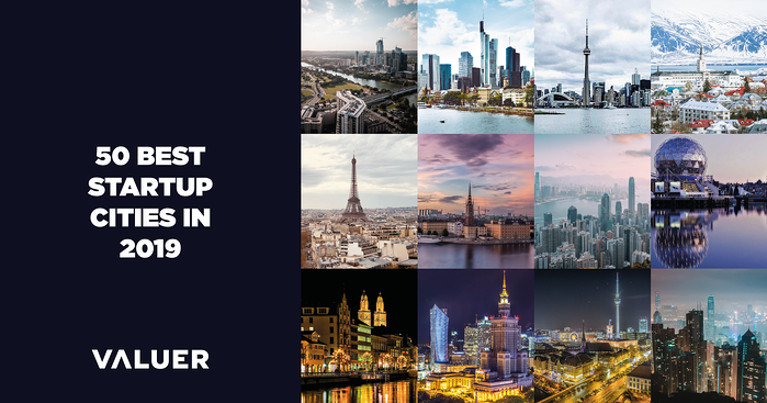 The 50 Best Startup Cities in 2019 - [free ebook]