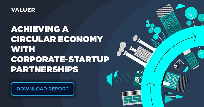 Achieving a Circular Economy With Corporate-Startup Partnerships