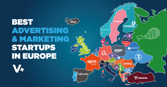 Best Advertising and Marketing Startups in Europe