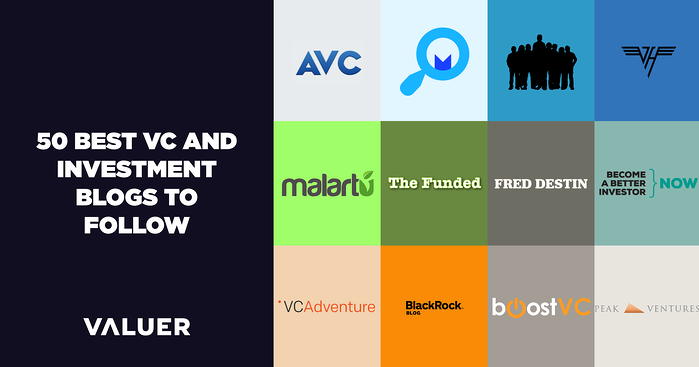 50 Best Venture Capital and Investment Blogs to Follow