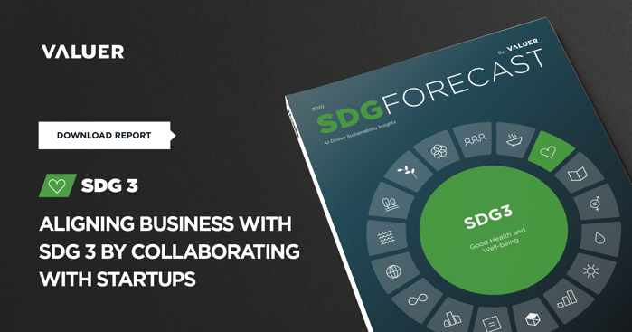 Aligning Business with SDG 3 by Collaborating With Startups