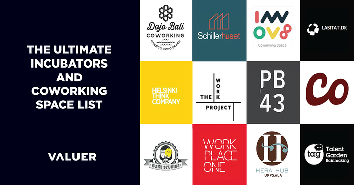 The Ultimate Incubator and Coworking Space List