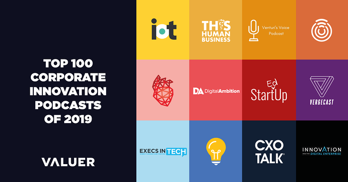 Top 100 Corporate Innovation Podcasts of 2019