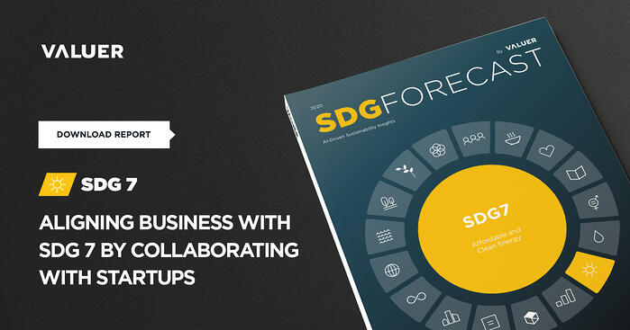 Aligning Business with SDG 7 by Collaborating With Startups