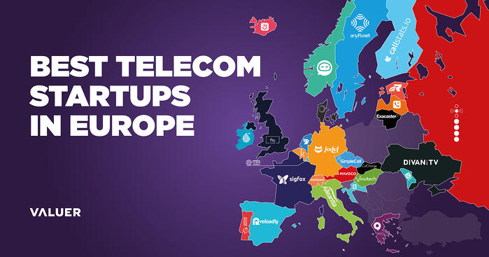 Best Telecommunication Startups in Europe