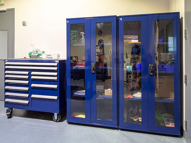 Lab-Cabients-with-Glass-Doors
