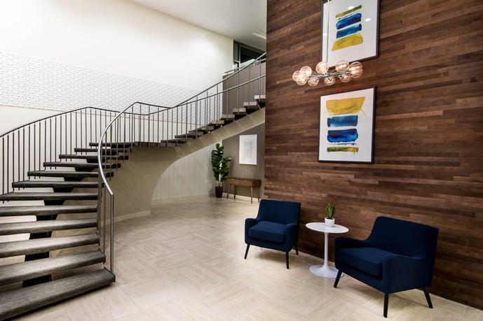400 Columbus Lobby Design