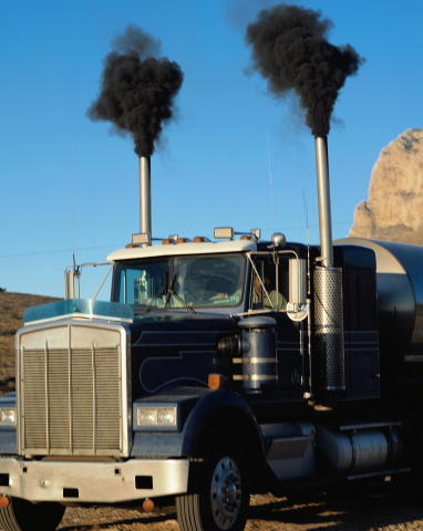 Diesel engine problems: black smoke explained